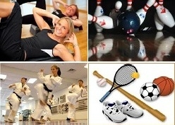 Sports or recreational activities